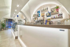 Modeling e Design Bar Pasticcerie St. Honoré progetti per layout.